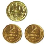 Монеты 15+4
